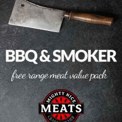 Meat for BBQ and Smoker Cooking Value Pack