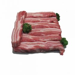 Pork spare ribs boneless plain