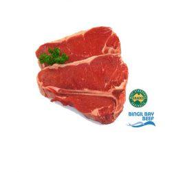 tbone steak grass fed beef bingil bay msa graded
